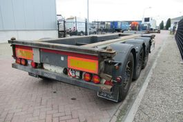 container chassis oplegger Renders Euro 800 / SAF + Disc / 2x Extendable 2012