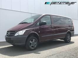 minivan - personenbus Mercedes-Benz 04.2021 116 CDI Allrad 4x4 Mixto 5 Sitzer, Klima, AHK 2,5 t. 2012