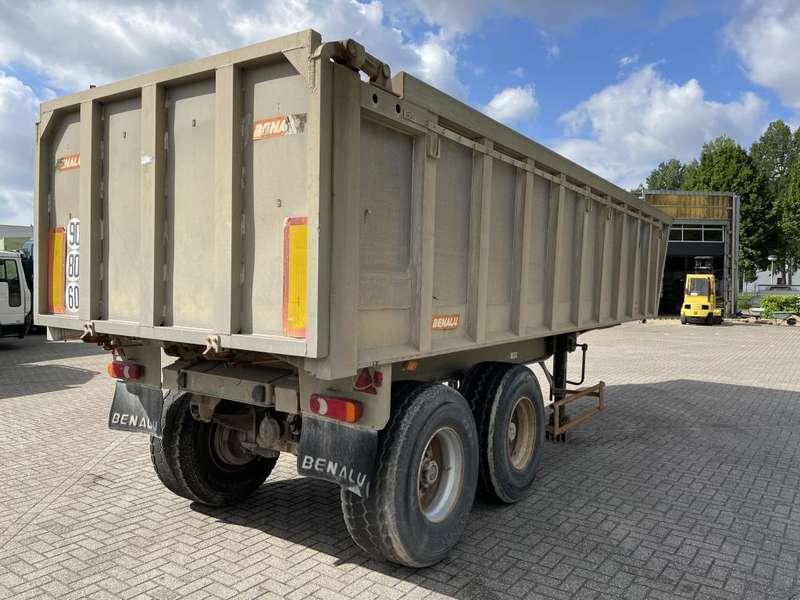 Benalu - Alu kipper 2 axle drum and steel suspension 5