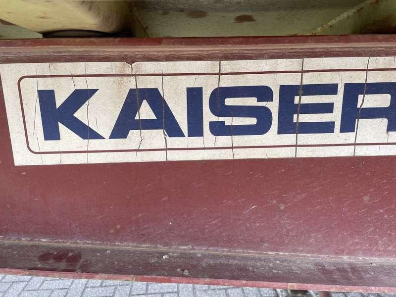 Kaiser - 2 axle steel tipper drum brakes and steel suspension 3