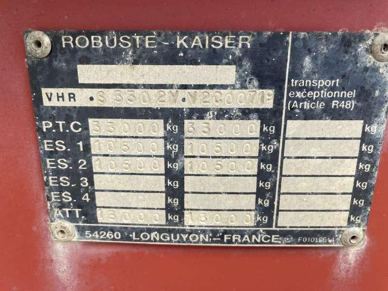 Kaiser - 2 axle steel tipper drum brakes and steel suspension 9