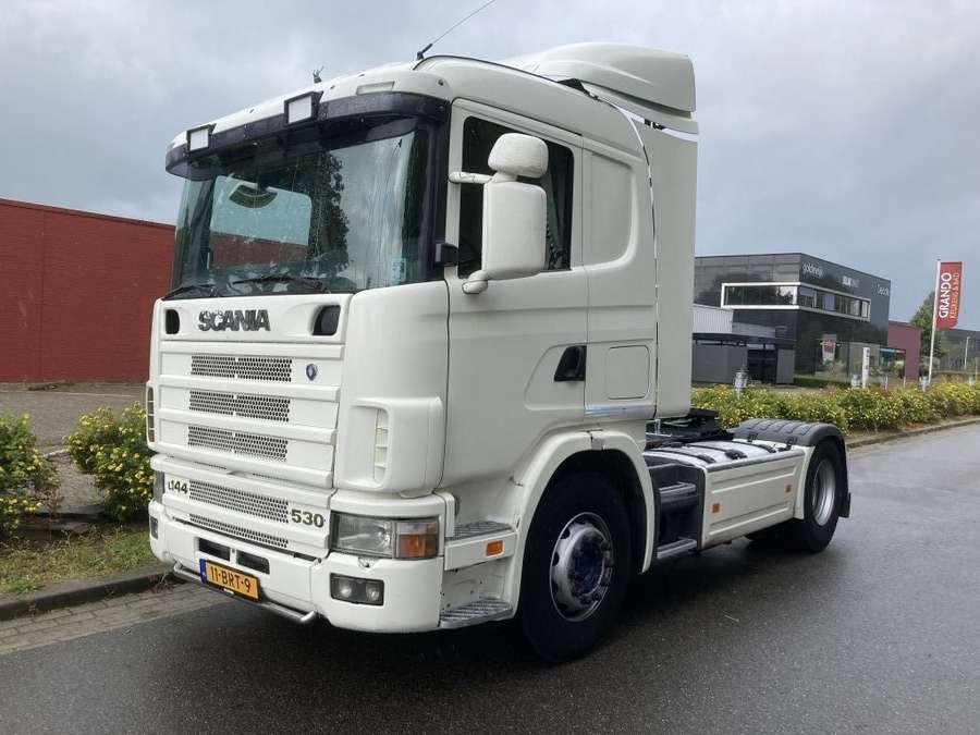 Scania - Low roof new apk mot - new hydrauliek!!!!!! 1