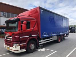 schuifzeil vrachtwagen Scania G280 B 6X2*4 2011