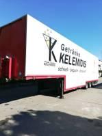 verkoop opbouw oplegger Schmitz Cargobull GROSS Elektr./Hydr. Schwenkwand Getränke HU NEU 2007