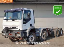 chassis cabine vrachtwagen Iveco 340E34 8X4 Manual Big-Axle Steelsuspension Euro 2 1999