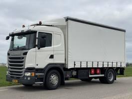 schuifzeil vrachtwagen Scania G320  12-2016.  171416km. Schuifzeil.  2tons Laadklep! 2016