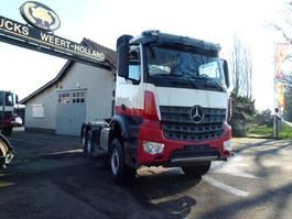 standaard trekker Mercedes-Benz Arocs 3345 6x6 with hydraulics 2016