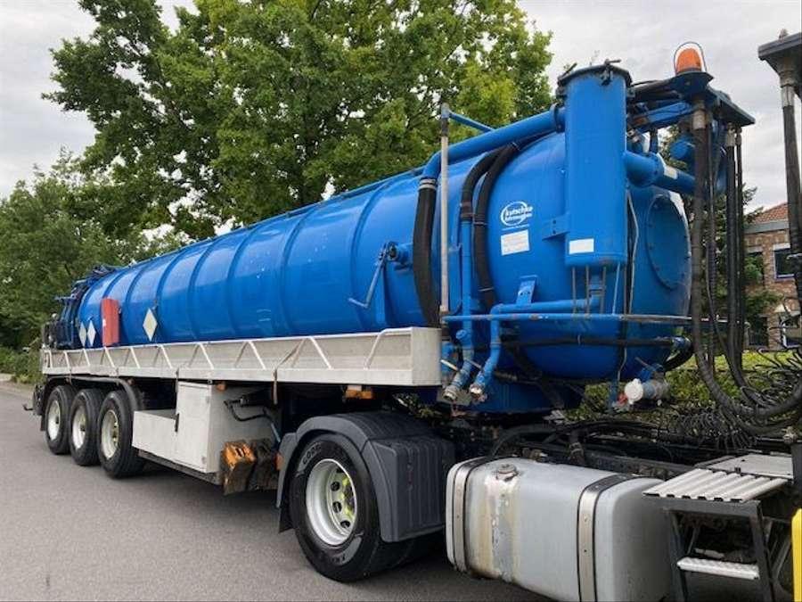 MAN - Saug- und Druckwagen/25000L 6