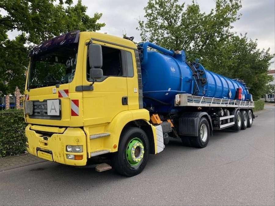 MAN - Saug- und Druckwagen/25000L 1