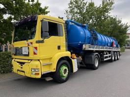 kolkenzuiger vrachtwagen MAN TGA 18 Saug- und Druckwagen/25000L 2003