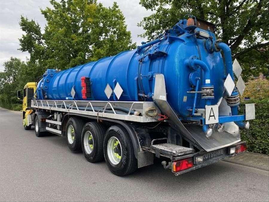 MAN - Saug- und Druckwagen/25000L 4