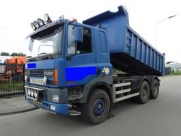 zware last trekker DAF 85 CF 380 6X4 EURO 2  KIPPER / TREKKER !! 2000