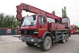 kraanwagen Mercedes-Benz 2629 6x6 ATLAS KRAN AK6500T  (first owner. Very good state) FULL SPRING 1992