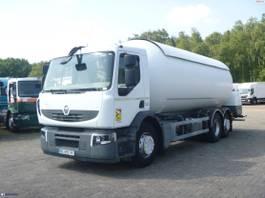 tankwagen vrachtwagen Renault 310.26 dxi 6x2 gas tank 26.6 m3 2009
