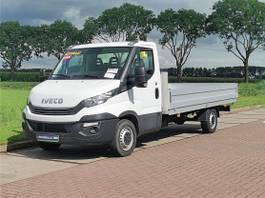 platform bedrijfswagen Iveco 35S16 xl open laadbak 2018
