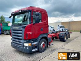 chassis cabine vrachtwagen Scania R420 LB 6X2 MNB GRS895 MANUAL GEARBOX 2007