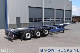 container chassis oplegger Pacton ET3 | 2x20-30-40ft * STUURAS * LIFTAS * APK/ADR 12-2021 2016