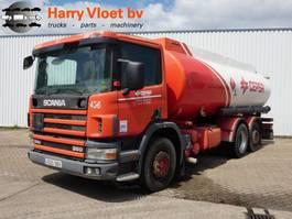 tankwagen vrachtwagen Scania P94 6X2 2000