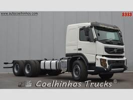 chassis cabine vrachtwagen Volvo FMX 500 // 6x4 2012