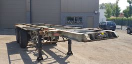container chassis oplegger Pacton 20f full steel containertrailer 1993