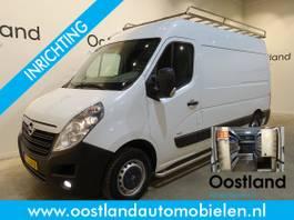 gesloten bestelwagen Opel 2.3 CDTI L2H2 136 PK Servicebus / Inrichting / Airco / Cruise Control / ... 2015