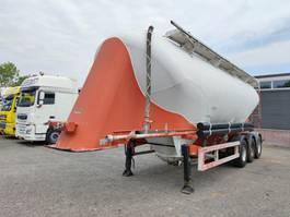 silo oplegger SPITZER BBS F28 EUT 39m³ SAF-Assen - Schijfremmen - ALU (O694) 2000