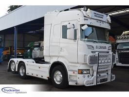 standaard trekker Scania R730 V8 Highline, PTO, ADR, 6x2, Truckcenter Apeldoorn 2013