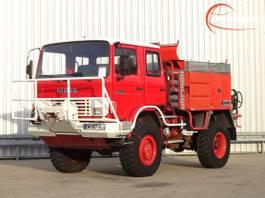 brandweerwagen vrachtwagen Renault 110 150 4x4 - Sides CCF 3000 ltr. - feuerwehr - fire brigade - brandweer... 1992