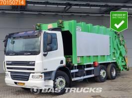 vuilniswagen vrachtwagen DAF CF 75 6X2 NL-Truck Lenkachse Navi Euro 4 2006