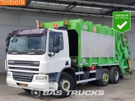 vuilniswagen vrachtwagen DAF CF 75 6X2 NL-Truck Lenkachse Euro 5 2008