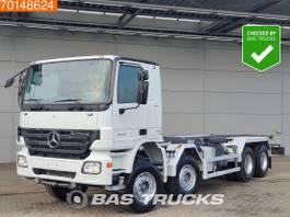 wissellaadbaksysteem vrachtwagen Mercedes-Benz Actros 4144 8X4 3-Pedals Big-Axle Euro 4 2007