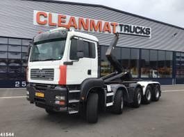 containersysteem vrachtwagen MAN TGA 35 10x4 Hiab 30 ton's haakarmsysteem 2007