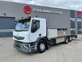 platform vrachtwagen Renault Premium 410 Premium 6x2 platform with ramps - ONLY 59.000KM!