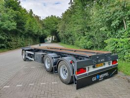 container chassis aanhanger GS AC-2800 L  -  LIFT AS  -  BANDEN 90% 2001