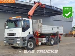 kipper vrachtwagen > 7.5 t Iveco AD260S43 6X2 6x2*4 Crane Kran Palfinger PK16502 Remote 2005