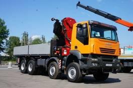 kraanwagen Iveco Trakker 410 AD 8x8 HMF 4220 Crane Kran OFF ROAD 2007