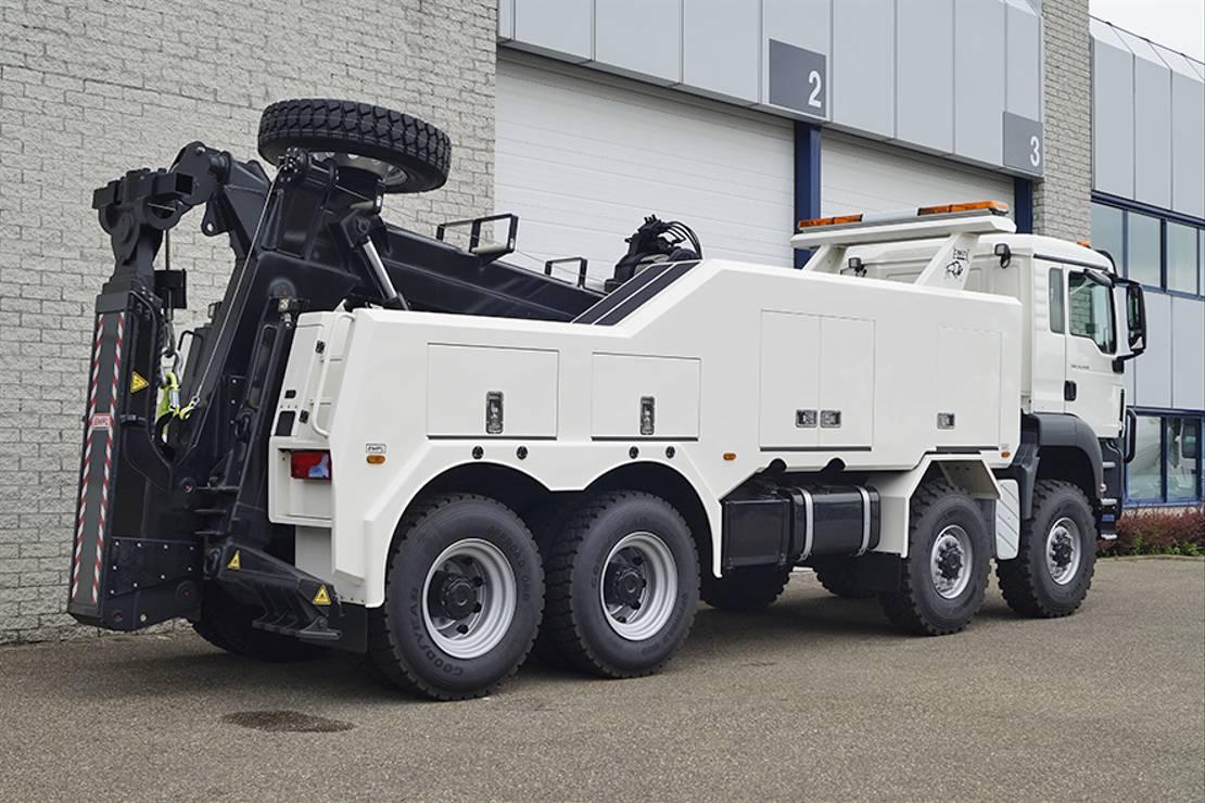 takelwagen-bergingswagen-vrachtwagen MAN TGS 41 BB-WW RECOVERY TRUCK
