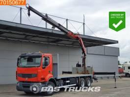 platform vrachtwagen Renault Premium 450 6X4 Retarder Fassi Crane Euro 5 2009