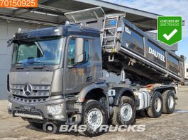 kipper vrachtwagen > 7.5 t Mercedes-Benz Arocs 3243 8X4 BigAxle 3-Seiten 14m3 ClassicSpace 2018