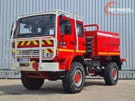 brandweerwagen vrachtwagen Renault Midliner 210 M210 4x4 -Feuerwehr, Fire brigade - 3.500 ltr watertank - Expeditie, Cam... 1999