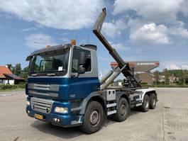 containersysteem vrachtwagen DAF CF 85 FAD CF 85.410 8x4 Steel Springs Manual Gearbox 2008