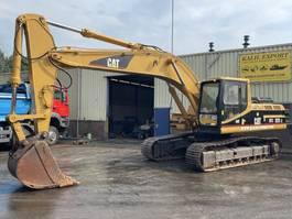rupsgraafmachine Caterpillar 325LN Track Excavator 29T. Hammer Line Good Condition 1995