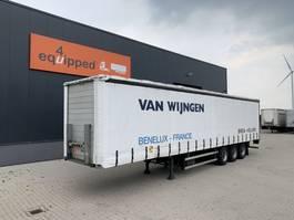 schuifzeil oplegger Groenewegen DRO-12-27, BPW+drumbrakes, hardwooden floor, NL-trailer, APK: 10/2021 2000