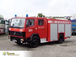 brandweerwagen vrachtwagen Mercedes-Benz Ecoliner 1124 + Euro 2 + Pump + hose 1998