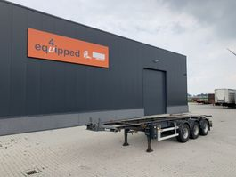 container chassis oplegger LAG 20FT/30FT, BPW, ADR (EXII, EXIII, FL, OX, AT), ALCOA, empty weight 3.750kg 2009