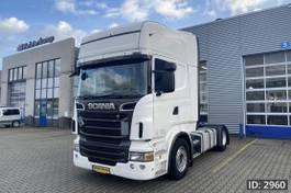 standaard trekker Scania R500 Topline, Euro 5, / Topline / Retarder / Opticruise, Intarder 2010
