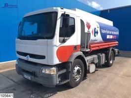 tankwagen vrachtwagen Renault Premium 270 Manual, Steel suspension, 14.536 L, 4 comp 2002