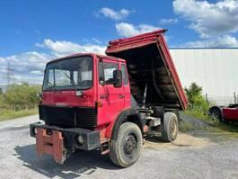 kipper vrachtwagen > 7.5 t Magirus DEUTZ Iveco-Magirus 130 - 17, 4x4, Full Steel 1985