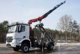 kipper vrachtwagen > 7.5 t Mercedes-Benz 4x4 1836 FASSI 165 EURO 6 KRAN CRAN 2016