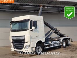 containersysteem vrachtwagen DAF XF 460 6X2 SC Intarder ACC 2x Tanks Liftachse 2015